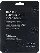 Parfüm, Parfüméria, kozmetikum Maszk erjesztett összetevőkkel és peptidekkel - Benton Fermentation Mask Pack