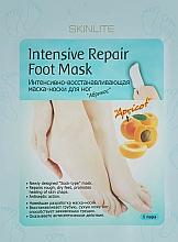 """Parfüm, Parfüméria, kozmetikum Intenzív regeneráló lábmaszk-zokni """"Barack"""" - Skinlite Intensive Repair Foot Mask"""