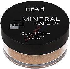 Parfüm, Parfüméria, kozmetikum Arcpúder, ásványi - Hean Mineral Make Up Cover&Matte Loose Mineral Powder
