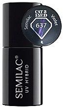 Parfüm, Parfüméria, kozmetikum Körömlakk - Semilac UV Hybrid Cat Eye 3D
