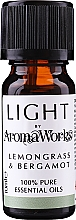 "Parfüm, Parfüméria, kozmetikum Illóolaj ""Vasfű és bergamot"" - AromaWorks Light Range Lemongrass and Bergamot Essential Oil"