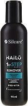 Parfüm, Parfüméria, kozmetikum Körömlakklemosó szer - Silcare Nailo Remover Pro-vita