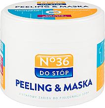 Parfüm, Parfüméria, kozmetikum Hámlasztó lábmaszk kétfázisú - Pharma CF No.36 Peeling & Mask