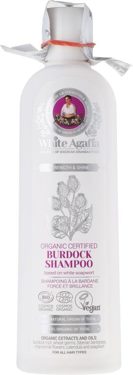 Bojtorján sampon erős és ragyogó hajért - Agáta nagymama receptjei White Agafia Burdock Shampoo