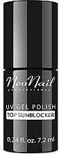 Parfüm, Parfüméria, kozmetikum Fedő gél lakk, napvédő hatás - NeoNail Professional Top Sunblocker