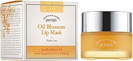 Parfüm, Parfüméria, kozmetikum Éjszakai ajakmaszk E-vitaminnal és homoktövis olajjal - Petitfee&Koelf Oil Blossom Lip Mask