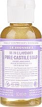 """Parfüm, Parfüméria, kozmetikum Folyékony szappan """"Levendula"""" - Dr. Bronner's 18-in-1 Pure Castile Soap Lavender"""