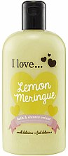 Parfüm, Parfüméria, kozmetikum Tusoló fürdő géles olaj - I Love... Lemon Meringue Bath And Shower Cream