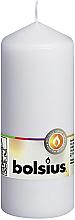 Parfüm, Parfüméria, kozmetikum Henger alakú gyertya, fehér, 150/60 mm - Bolsius Candle