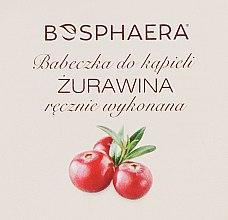 "Parfüm, Parfüméria, kozmetikum Fürdőbomba ""Vörösáfonya"" - Bosphaera"