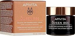 Parfüm, Parfüméria, kozmetikum Éjszakai öregedést gátló arckrém - Apivita Queen Bee Holistic Age Defense Night Cream