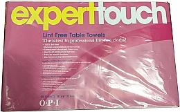 Parfüm, Parfüméria, kozmetikum Eldobható szöszmentes törlőkendők - O.P.I. Expert Expert Touch Table Towels
