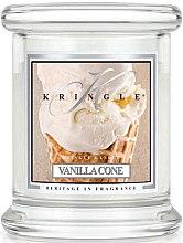 Parfüm, Parfüméria, kozmetikum Illatgyertya üvegben - Kringle Candle Vanilla Cone