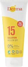 Parfüm, Parfüméria, kozmetikum Napozó tej - Derma Sun Lotion SPF 15