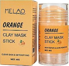 """Parfüm, Parfüméria, kozmetikum Maszk stift arcra """"Orange""""  - Melao Orange Clay Mask Stick"""
