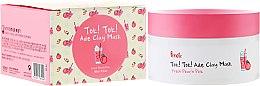 Parfüm, Parfüméria, kozmetikum Rózsaszín agyagmaszk barack kivonattal - Prreti Tok!Tok!