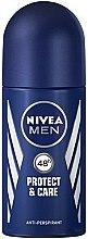 """Parfüm, Parfüméria, kozmetikum Golyós dezodor """"Védelem és ápolás"""" - Nivea Men Protect and Care Deodorant Roll-On"""