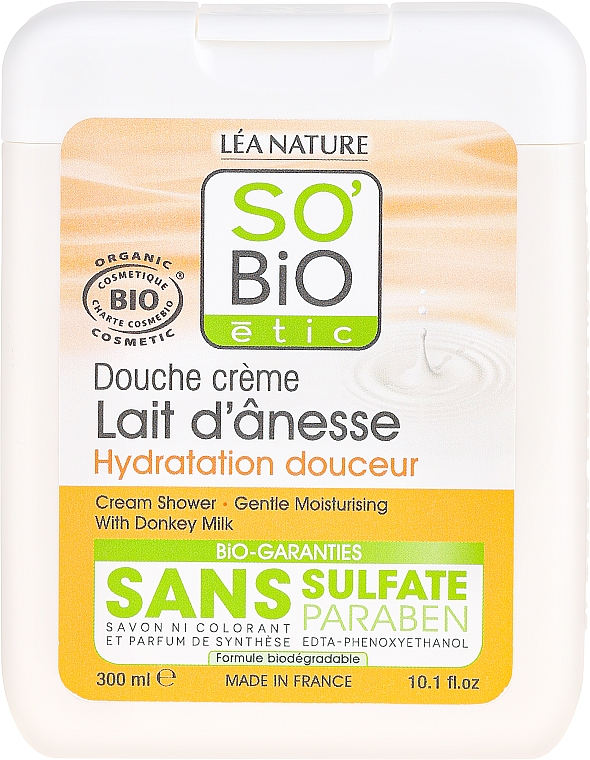 Krémtusfürdő szamártejjel - So'Bio Etic Cream Shower