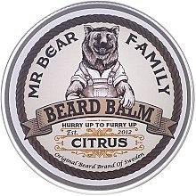 Parfüm, Parfüméria, kozmetikum Szakállápoló balzsam - Mr. Bear Family Beard Balm Citrus