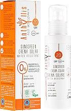 Parfüm, Parfüméria, kozmetikum Vízálló napvédő krém SPF20 - Anthyllis Sunscreen Creama Solar Water Resistant