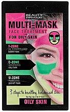 Parfüm, Parfüméria, kozmetikum Hajmaszk zsíros bőrre - Beauty Formulas 3-Step Multi Mask Face Treatment Oily Skin