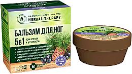 Parfüm, Parfüméria, kozmetikum Lábbalzsam 5 az 1 fáradság és duzzanatok kezelésére  - ECO Laboratorie Herbal Therapy
