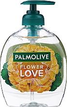 "Parfüm, Parfüméria, kozmetikum Folyékony szappan ""Szerelem virága"", sárga - Palmolive Flower Love Liquid Soap"