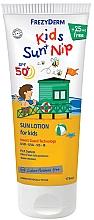 Parfüm, Parfüméria, kozmetikum Vízálló nap- és rovarvédő gyermek lotion - Frezyderm Kids Sun+Nip SPF 50+