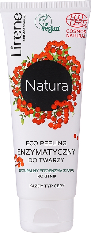 Enzímes ECO-peeling arcra - Lirene Natura Eco Peeling