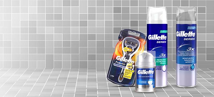Gillette termékek 4330 Ft feletti vásárlása során kapj ajándékba hidratáló gélt borotválkozáshoz