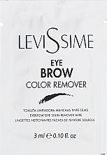 Parfüm, Parfüméria, kozmetikum Tisztószer szemöldökfestés során - LeviSsime Eye Brow Color Remover (minta)í