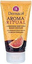 """Parfüm, Parfüméria, kozmetikum Harmonizáló bőrradír """"Belga csokoládé"""" - Dermacol Body Aroma Ritual Harmonizing Body Scrub"""