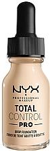 Parfüm, Parfüméria, kozmetikum Alapozó - NYX Professional Total Control Pro Drop Foundation