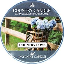 Parfüm, Parfüméria, kozmetikum Teamécses - Country Candle Country Love