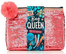 Parfüm, Parfüméria, kozmetikum Szett - Dirty Works Queen Night Out Essentials (lip/stick/2.8ml + b/spray/10ml + nail/file/1pcs + bag)