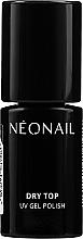 Parfüm, Parfüméria, kozmetikum Fedőlakk ragacsos réteg nélkül - NeoNail Professional Top Dry