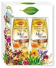 Parfüm, Parfüméria, kozmetikum Szett - Bione Cosmetics Honey + Q10 (shm/260ml+sh/gel/300ml)