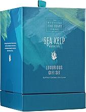 Parfüm, Parfüméria, kozmetikum Szett - Scottish Fine Soaps Sea Kelp Marine Spa Luxurious Gift Set(b/cr/75ml + b/peel/75ml + sh/cr/75ml + soap/40g)