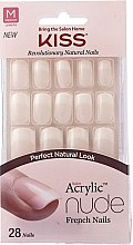 Parfüm, Parfüméria, kozmetikum Műköröm készlet ragasztóval - Kiss Salon Acrylic Nude Nails Cashmere