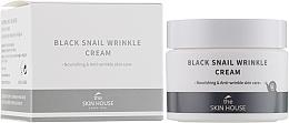 Parfüm, Parfüméria, kozmetikum Tápláló krém kollagénnel és fekete csigamucinnal - The Skin House Black Snail Wrinkle Cream