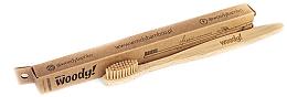"""Parfüm, Parfüméria, kozmetikum Bambusz fogkefe """"Classic"""", közepes - WoodyBamboo Bamboo Toothbrush Classic"""