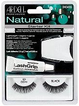Parfüm, Parfüméria, kozmetikum Készlet - Ardell Natural Starter Kit Demi Black 101
