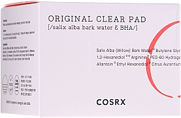 Parfüm, Parfüméria, kozmetikum Tisztító korongok BHA-savakkal - Cosrx One Step Original Clear Pads