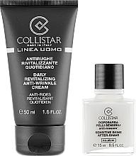 Parfüm, Parfüméria, kozmetikum Készlet - Collistar Linea Uomo (f/cr/50ml + ash/balm/15ml)