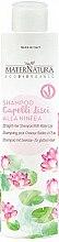 Parfüm, Parfüméria, kozmetikum Sampon egyenes hajra vizililiommal - MaterNatura Water Lily Shampoo