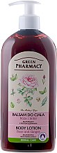"""Parfüm, Parfüméria, kozmetikum """"Rózsa és gyömbér"""" testápoló - Green Pharmacy"""