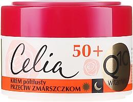Parfüm, Parfüméria, kozmetikum Ránctalanító krém - Celia Q10 Vitamin 50+