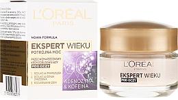 """Parfüm, Parfüméria, kozmetikum Ránctalanító krém szemkörnyékre """"Trio Aktív 60+. Adenozin és Koffein"""" - L'Oreal Paris Age Expert Anti-Wrinkle Rebuilding Eye Cream"""