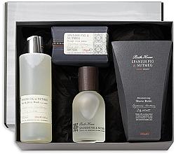 Parfüm, Parfüméria, kozmetikum Bath House Spanish Fig and Nutmeg - Szett (edc/100ml + sh/gel/260ml + shave/balm/100ml + soap/150g)