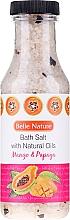"""Parfüm, Parfüméria, kozmetikum Fürdősó """"Mangó és papaja"""" - Belle Nature Bath Salt"""